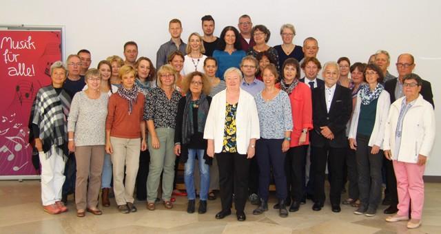 Team Musikschule Badische Bergstraße